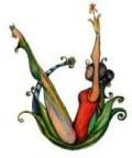 chica practicando yogalates