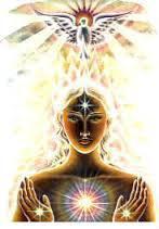 chica recibiendo energía universal Reiki