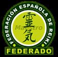 sello de la Federación Española de Reiki