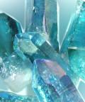 cuarzo aqua aura